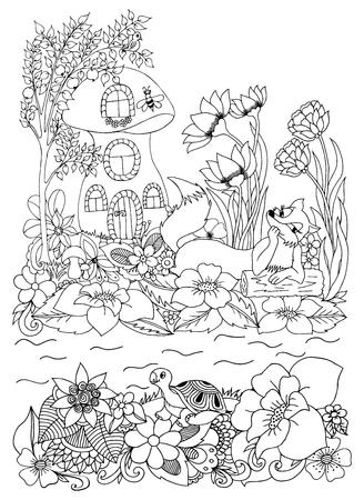 Cartoon Biene Insekt (Hummel), Isoliert Auf Weißem Hintergrund ...