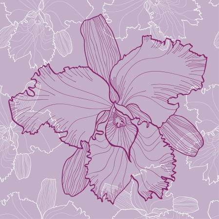 textiles: The vector illustration of flowers