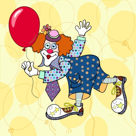 clown cirque: L'illustration de clown
