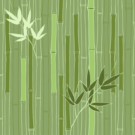 bamboo background: Seamless pattern with bamboo