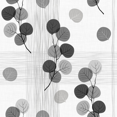 Seamless pattern of abstract branches.
