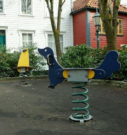 playground equipment: playground equipment Stock Photo