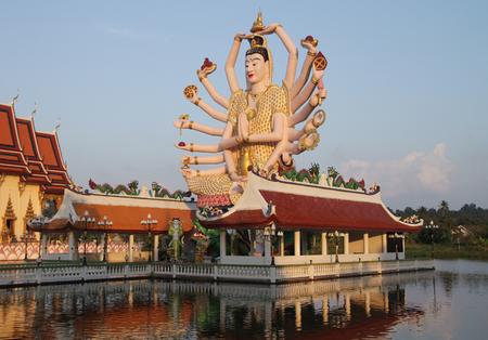 koh: Shiva sculpture in Koh Samui