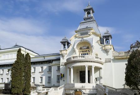 edifice: Elegant cultural edifice in early twentieth century neoclassical style
