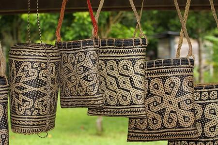 padi: Baskets Stock Photo