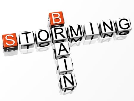 brain storming: Brain Storming Crossword