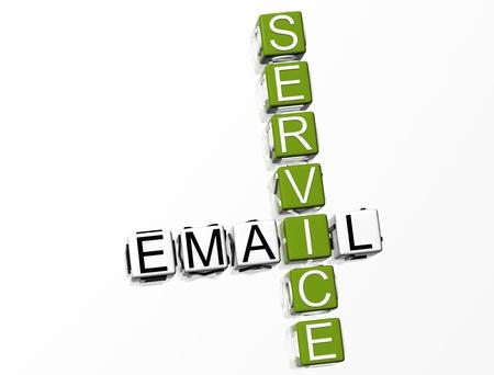 Email Service Crossword Stock Photo - 8340453