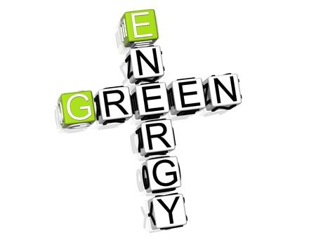Green Energy Crossword photo