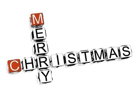 Merry Christmas Crossword photo