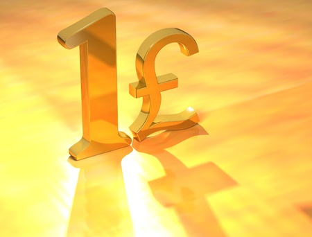 3D Gold Price text on yellow background Stock Photo - 8901828