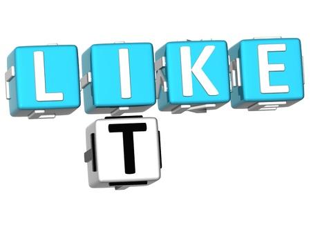 buzzword: 3D Like It Crossword on white background