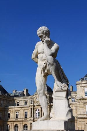 Luxemburg Palace in Paris photo