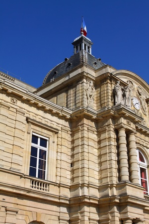 Luxemburg Palace in Paris photo