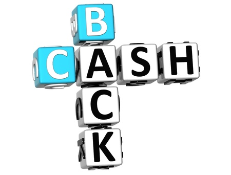 buzzwords: 3D Cash Back Crossword on white background Stock Photo