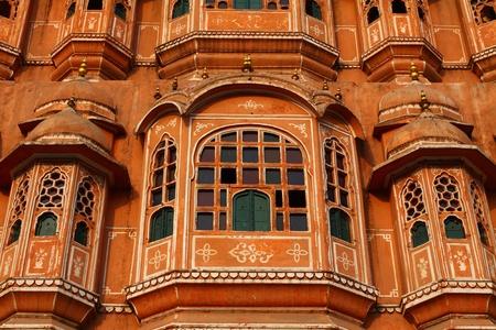 polygamy: Hawa Mahal, the Palace of Winds, Jaipur, Rajasthan, India.