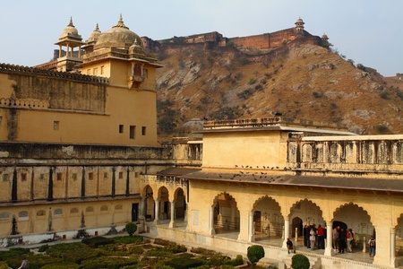 Amber Fort in Jaipur in India. Stock Photo - 12279357