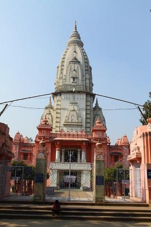 vihara: Beautiful towers of modern Mulagandhakuti Vihara temple, sarnath Editorial