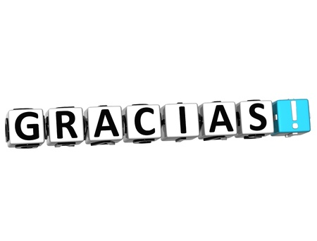 The word Thank you in many different languages. Block text over white background. photo