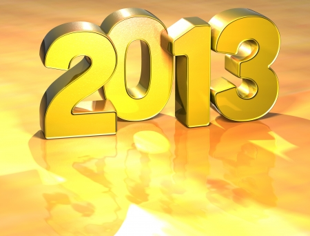 Word 2013 on yellow background (high resolution 3D image) photo