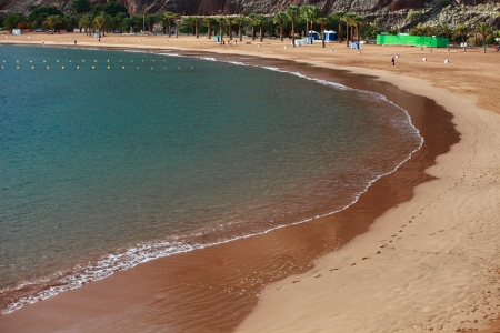 Playa de Las Teresitas, Canary Island Tenerife, Spain  photo