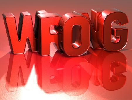 3D Word Wrong on red background Stock Photo - 17122132