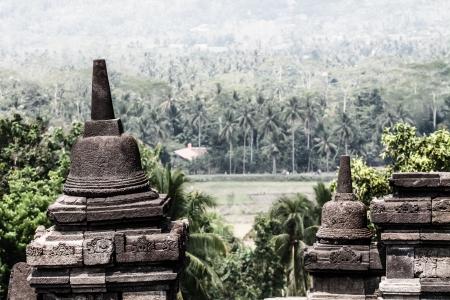 Borobudur Temple at sunrise.Indonesia. ( HDR image ) Stock Photo - 17144741