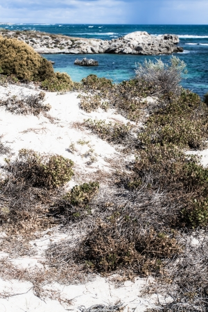 Scenic view over one of the beaches of Rottnest island  ( HDR image ) Stock Photo - 17147277