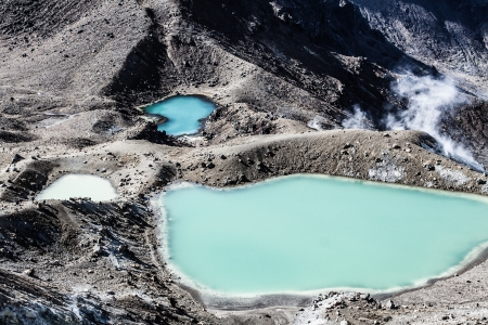 tongariro: Tongariro National Park, Nueva Zelanda (HDR)