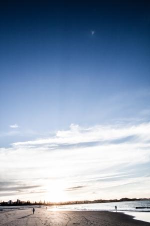 Gold Coast beaches, Queensland Australia ( HDR image ) Stock Photo - 17144577