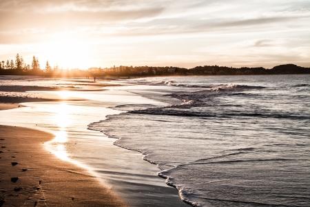 Gold Coast beaches, Queensland Australia ( HDR image ) photo