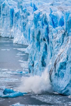 View of the magnificent Perito Moreno glacier, patagonia, Argentina. ( HDR image )