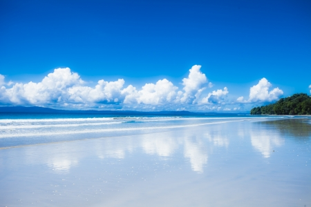 Tropical island of Havelock in Andaman, India. ( HDR image ) Stock Photo