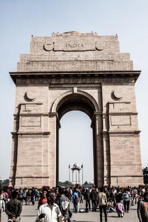 India Gate, Delhi. India ( HDR image ) Stock Photo - 17175470