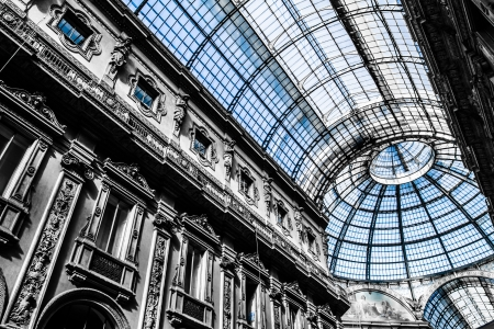 vittorio: Vittorio Emanuele Gallery - Milan ( HDR image ) Editorial