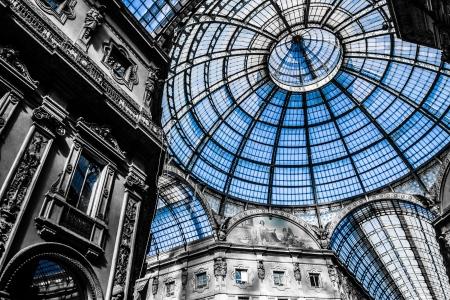 Vittorio Emanuele Gallery - Milan ( HDR image ) Editorial
