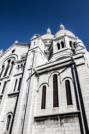 Sacre Coeur, Montmartre, Paris, France ( HDR image ) Stock Photo - 17291136
