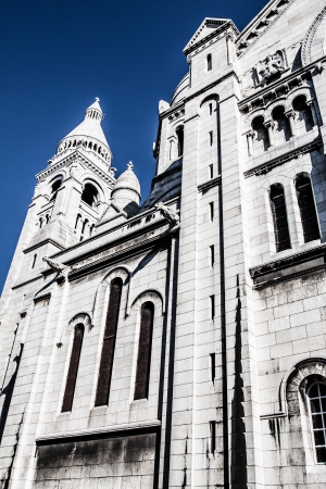 Sacre Coeur, Montmartre, Paris, France ( HDR image ) Stock Photo - 17291133