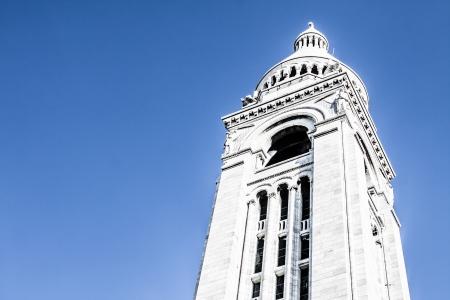 Sacre Coeur, Montmartre, Paris, France ( HDR image ) Stock Photo - 17290458
