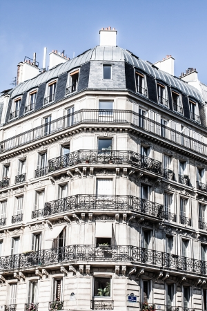 Parisian Architecture in autumn time ( HDR image ) photo