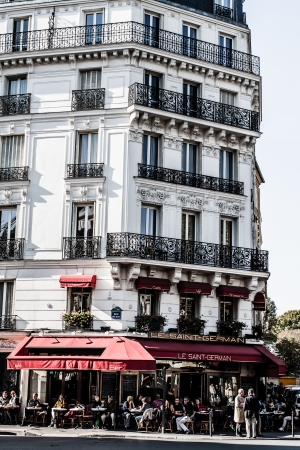 Parisian Architecture in autumn time ( HDR image )