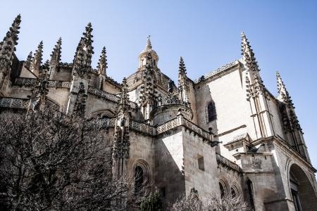 The famous ancient aqueduct in Segovia, Castilla y Leon, Spain ( HDR image ) Stock Photo - 17356505