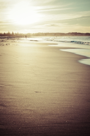 Beach in Goldcoast, Queensland, Australia Stock Photo - 17549653