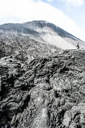 fuego:  Volcano Fuego in Guatemala