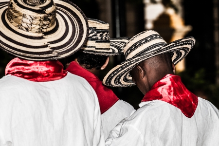 spanish culture: Unidentified Colombian dancers