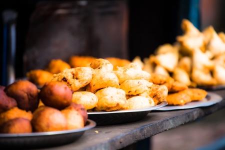 India street food at Jaipur.