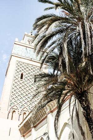 Morocco. Marrakech. Koutoubia Mosque ( HDR image ) Stock Photo - 17837243