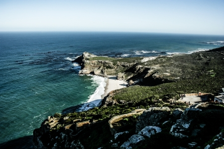 Panorama of the Cape of Good Hope South Africa Stock Photo - 17836757