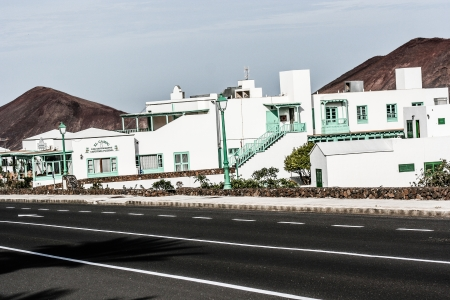 Traditional house, Lanzarote, Canary islands, Spain  Stock Photo - 17836890