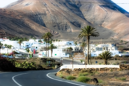 Traditional house, Lanzarote, Canary islands, Spain  Stock Photo - 17836874