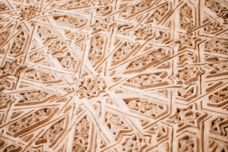 Ornamentation of a door of the mosque in Cordoba - Spain  photo